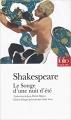 Couverture Le songe d'une nuit d'été Editions Folio  (Théâtre) 2018