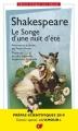 Couverture Le songe d'une nuit d'été Editions Flammarion (GF - Bilingue) 2018