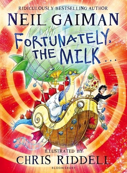 Couverture Fortunately, the Milk