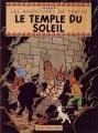 Couverture Les aventures de Tintin, tome 14 : Le Temple du Soleil Editions Casterman 1949