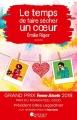 Couverture Le temps de faire sécher un coeur Editions Les Nouveaux auteurs 2018