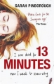 Couverture 13 minutes Editions Gollancz 2016