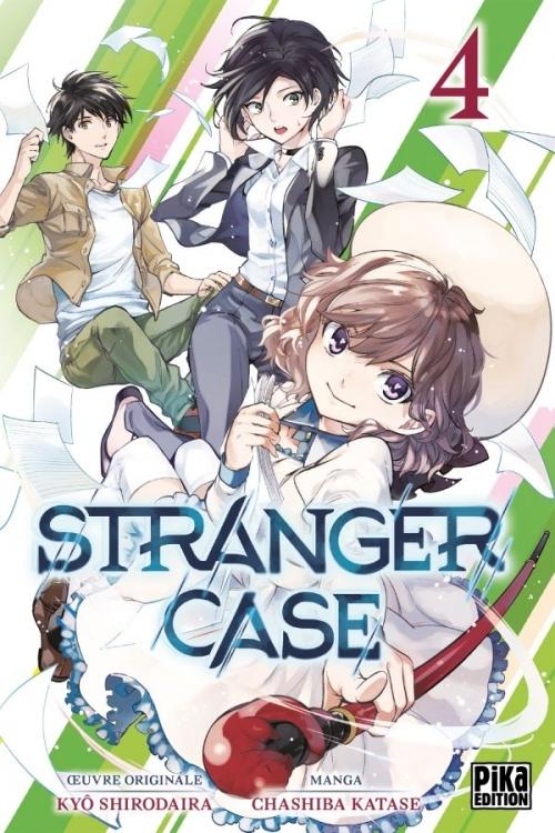 Couverture Stranger case, tome 04
