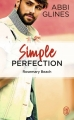 Couverture Perfection, tome 2 : Simple perfection Editions J'ai Lu 2018