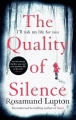 Couverture The quality of silence Editions Piatkus Books 2015