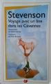 Couverture Voyage avec un âne dans les Cévennes Editions Garnier Flammarion 2013