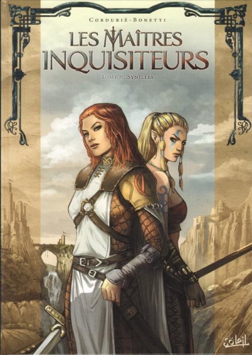 Couverture Les maîtres inquisiteurs, tome 08 : Synillia