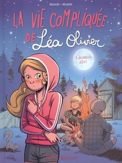 Couverture La vie compliquée de Léa Olivier (BD), tome 5 : Écureuil rôti