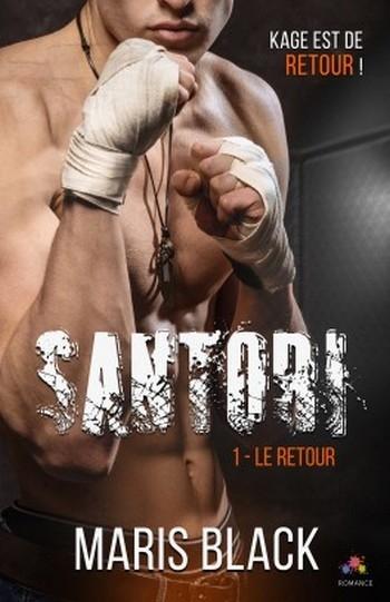 Couverture Santori, tome 1 : Le retour