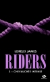 Couverture Riders, tome 3 : Chevauchée intense Editions Milady (Romantica) 2018