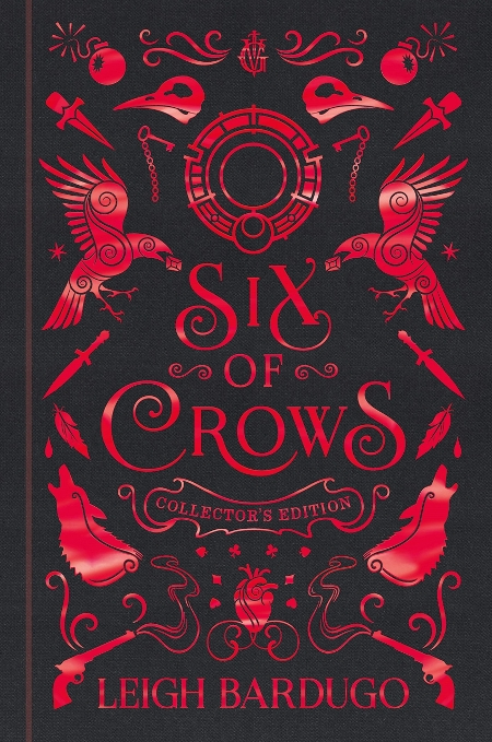 Couverture Six of crows, tome 1