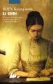 Couverture Li Chin Editions Philippe Picquier (Poche) 2012