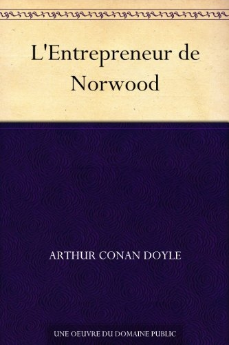 Couverture L'Entrepreneur de Norwood