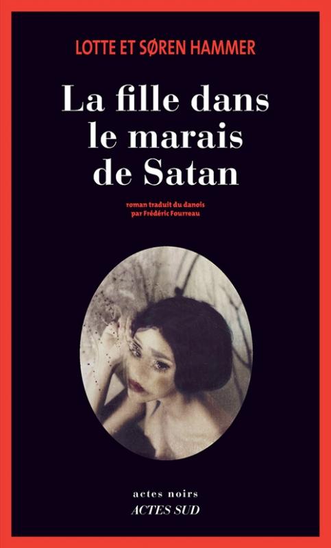 Couverture La Fille dans le marais de Satan