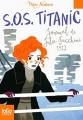 Couverture S.O.S Titanic : Journal de Julia Facchini, 1912 Editions Folio  (Junior - Mon histoire) 2016