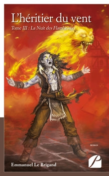 Couverture L'héritier du vent, tome 3 : La nuit des flambeaux
