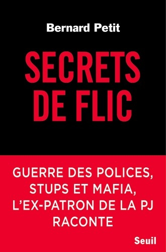 Couverture Secrets de Flic