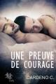Couverture Une preuve de courage Editions Autoédité 2015