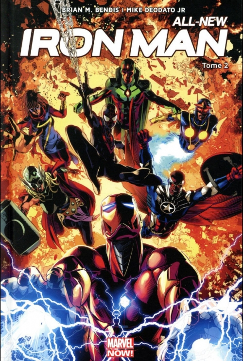 Couverture All-New Iron Man, tome 2 : War Machines
