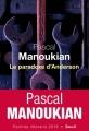 Couverture Le Paradoxe d'Anderson Editions Seuil 2018
