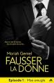 Couverture Fausser la donne, tome 1 : Mise aveugle Editions MxM Bookmark (Romance) 2018