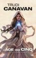 Couverture L'âge des cinq, tome 1 : La prêtresse blanche Editions Bragelonne (Fantasy) 2018
