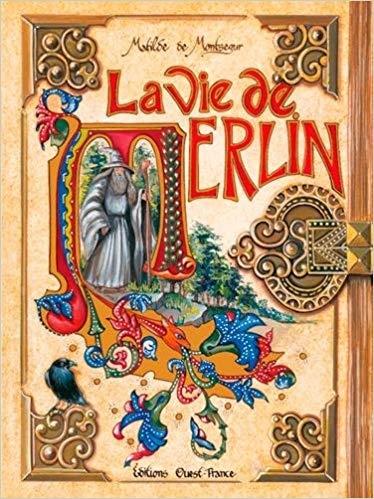 Couverture La vie de Merlin