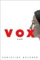 Couverture Vox Editions Berkley Books 2018