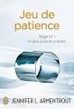 Couverture Jeu de patience, tome 1 Editions J'ai Lu 2014