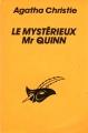Couverture Le mystérieux mr Quinn Editions Le Masque 1988