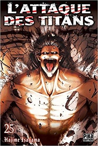 Couverture L'attaque des titans, tome 25