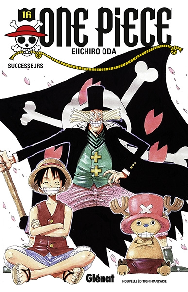 Couverture One Piece, tome 16 : Perpétuation