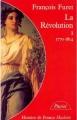 Couverture La Révolution, tome 1 : 1770-1814 Editions Hachette (Pluriel) 1988