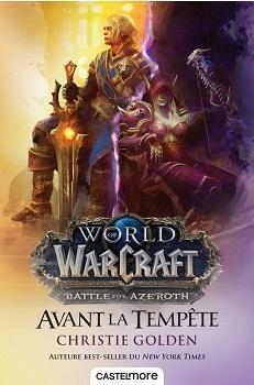 Couverture World of Warcraft : Avant la tempête