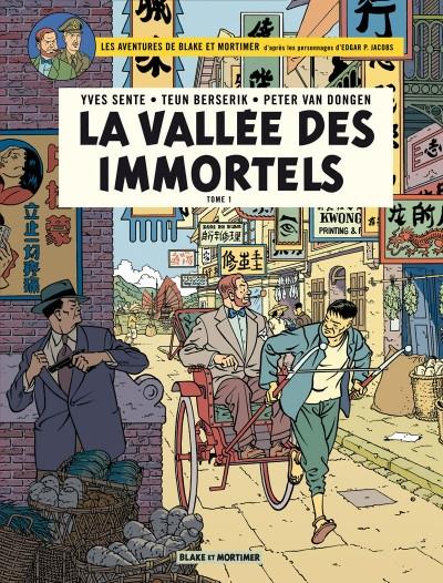 Couverture Blake et Mortimer, tome 25 : La vallée des immortels, partie 1