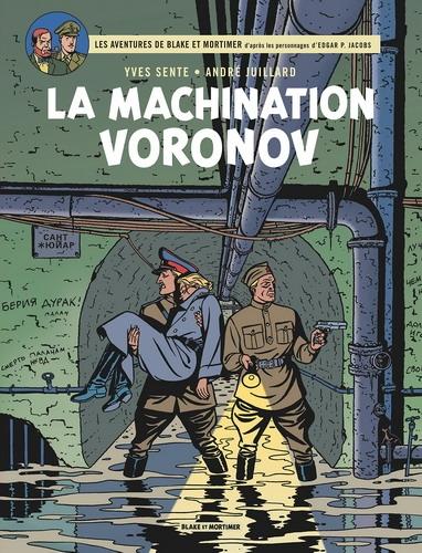 Couverture Blake et Mortimer, tome 14 : La Machination Voronov