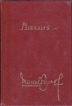 Couverture Trilogie marseillaise, tome 1 : Marius Editions Pastorelly 1973