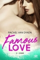 Couverture Famous Love, tome 2 : Zane Editions Milady (New Adult) 2018