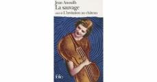 Couverture La Sauvage suivi de L'Invitation au château Editions Folio  2006