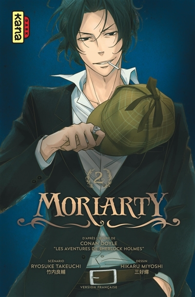 Couverture Moriarty, tome 2