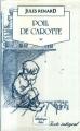 Couverture Poil de carotte Editions JC Lattès (Bibliothèque Lattès) 1988