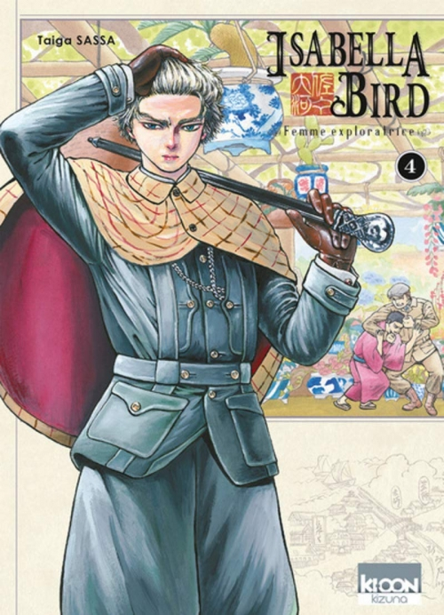 Couverture Isabella Bird : Femme exploratrice, tome 4