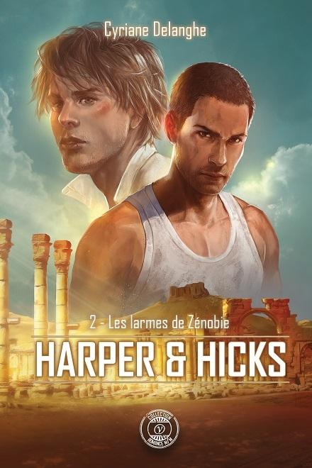 Couverture Harper & Hicks, tome 2 : Les larmes de Zénobie