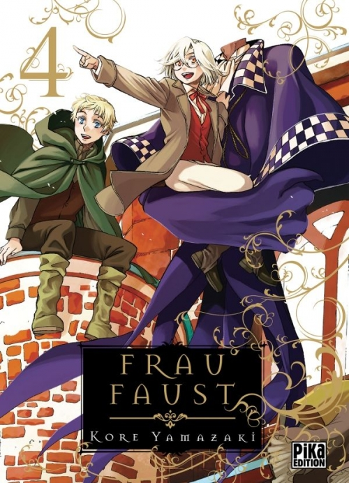 Couverture Frau Faust, tome 4