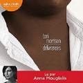 Couverture Délivrances Editions Audiolib 2016