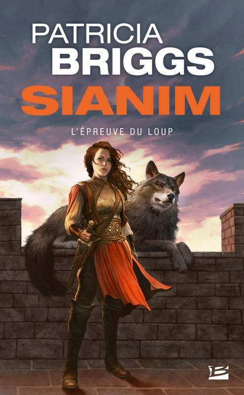 Couverture Sianim, tome 2 : L'épreuve du loup