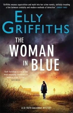 Couverture The woman in blue