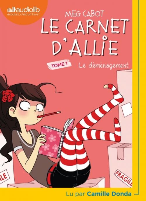 Couverture Le carnet d'Allie / Allie Punchie, tome 1 : Le déménagement