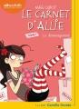 Couverture Le carnet d'Allie / Allie Punchie, tome 1 : Le déménagement Editions Audiolib 2018