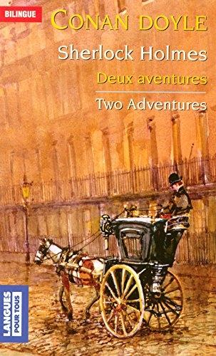 Couverture Sherlock Holmes Deux aventures